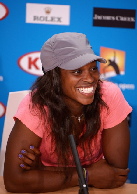 Sloane Stephens is the first American teenager to reach the semis of a Grand Slam since 2001.